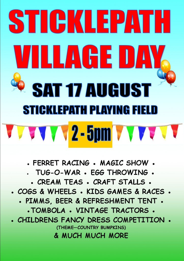 Sticklepath Village Day 2013