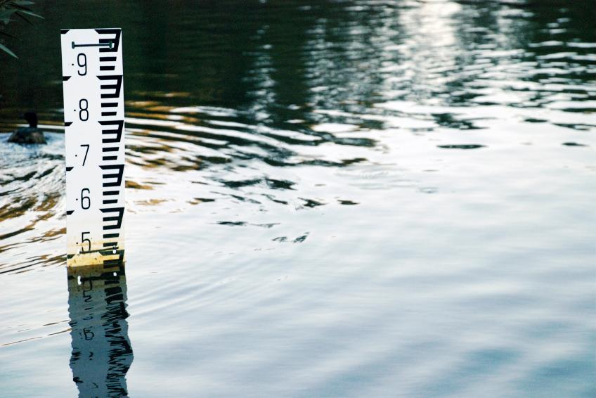 Sticklepath - Water Gauge