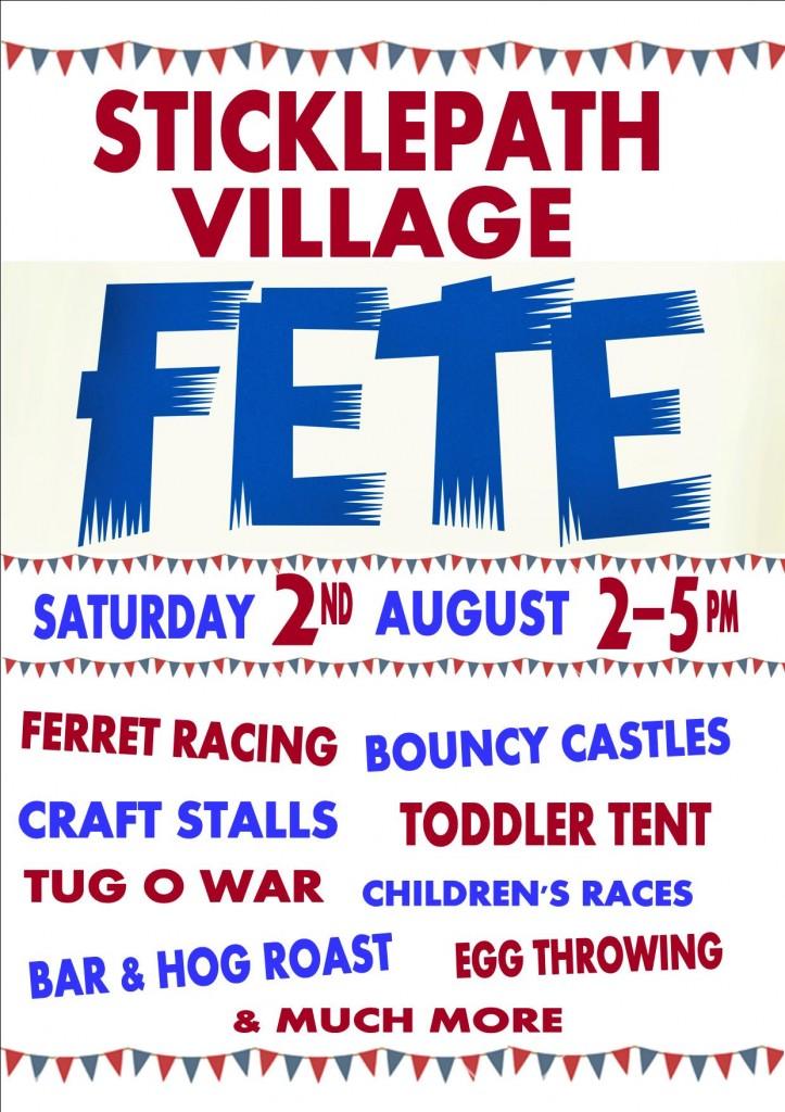 Village Day poster 2014