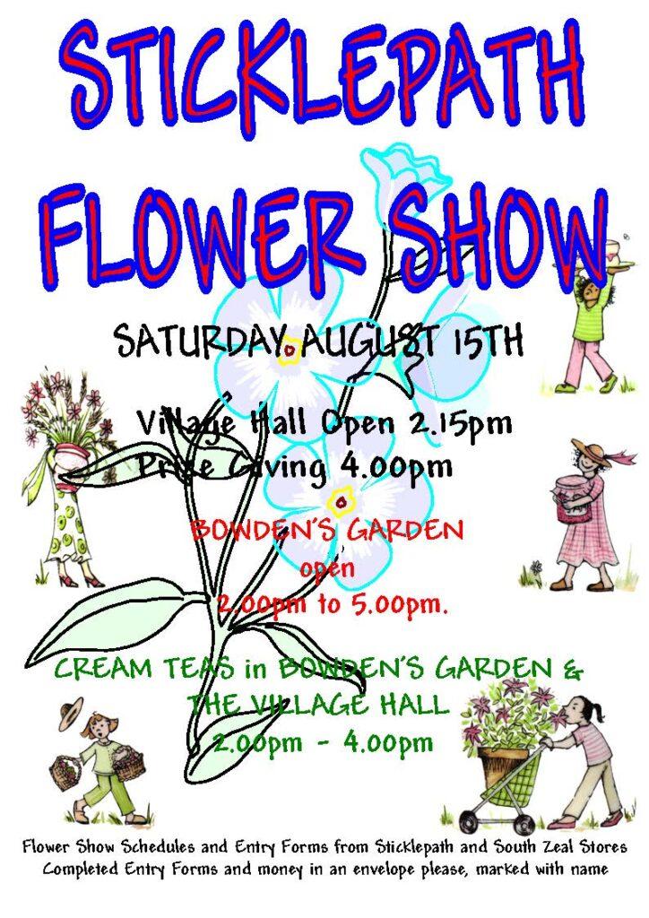 Sticklepath Flower Show 2015