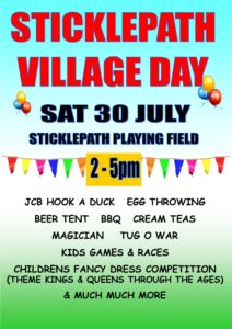 Village Day Poster 2016